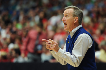 Rick Byrd leads the Belmont Bruins into the NCAA tournament hoping to knock off Georgetown.