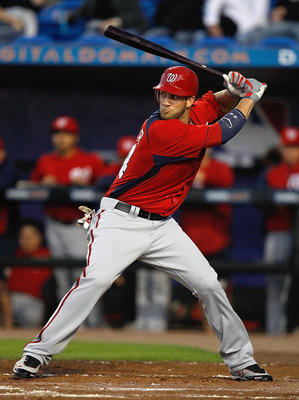 Bryce Harper in a Spring Training game March 5th.