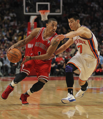 The Chicago Bulls chose Derrick Rose as the number one overall pick in the 2008 NBA Draft.