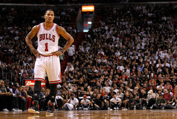 As his Bulls jersey number reads, Derrick Rose would be my number one pick.