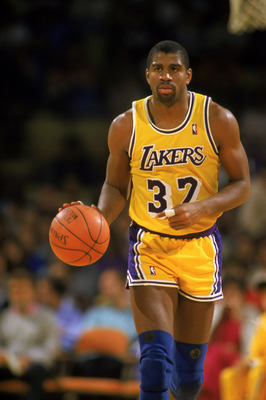 Five time NBA Champion Earvin Magic Johnson.
