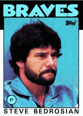 In addition to his stuff, Steve Bedrosian's appearance intimidated hitters.