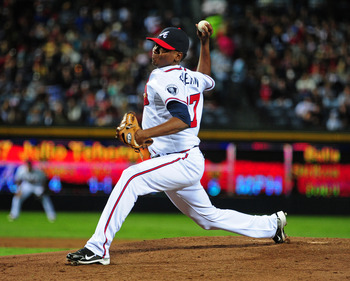Julio Teheran is a young flamethrower with a promising future.