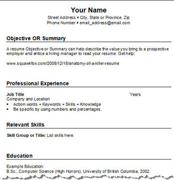 Chronological_resume_example_display_image