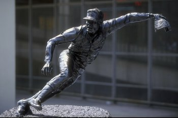 Bob Gibson Statue Outside of Busch Stadium