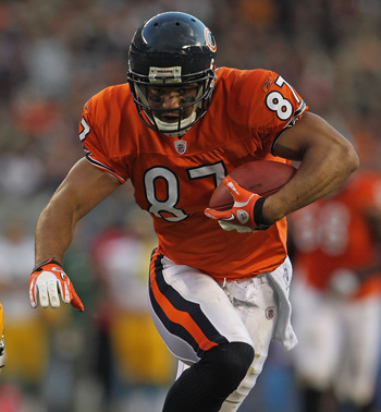 Davis played 4 seasons with the Bears from 2008-2011