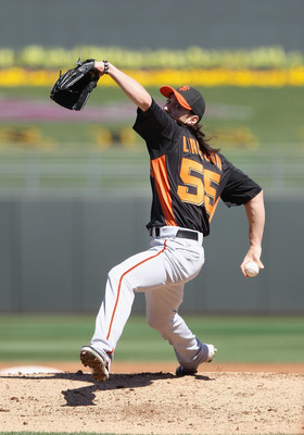 Tim Lincecum heads an impressive Giants' pitching staff