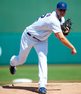 Chris Volstad is in the running for a spot in the starting rotation