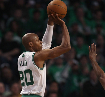 Ray Allen is one of the best shooters to ever play in the NBA.