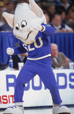 Love him or fear him, the Billiken must be respected at a distance.