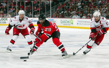 Oduya reached the playoffs in six straight seasons, his last appearance was in 2009 with New Jersey.
