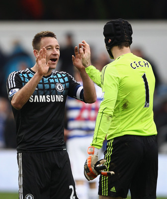 John Terry and Petr Cech are the heart of the Blues' defense.