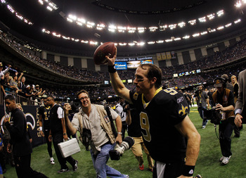 Drew Brees has made people forget the Saints miserable past.