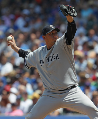 Will Freddie Garcia be the odd man out or No. 3 in the Yankees rotation?