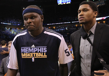The Grizzlies have been waiting for power forward Zach Randolph to return from a knee injury.