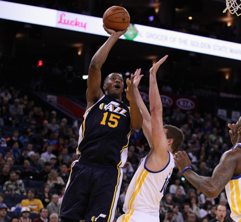 The Jazz seem to have a number of young big men such as Derrick Favors.
