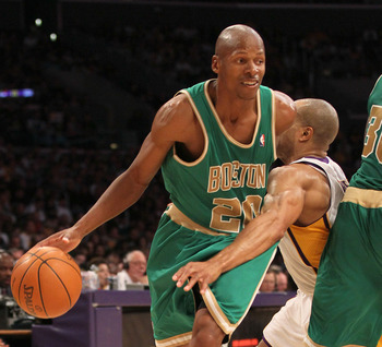 Ray Allen isn't going anywhere and neither are the Celtics.