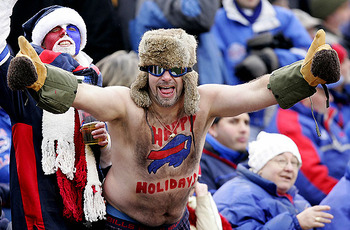 Christmas came early for Bills fans, who are ready to embrace Super Mario.