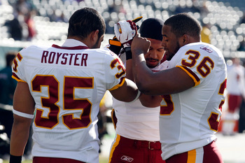 The Washington Redskins got excellent play from 2011 Draft pick Evan Royster, among others.