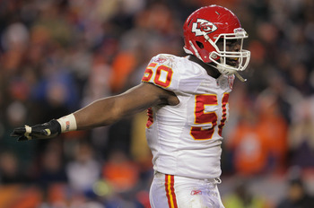 Rookie Chiefs Linebacker Justin Houston did not disappoint in 2011.