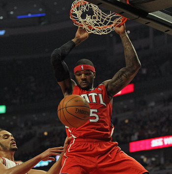 Atlanta Hawks forward Josh Smith is arguably one of the NBA's most exciting players and prolific dunkers.