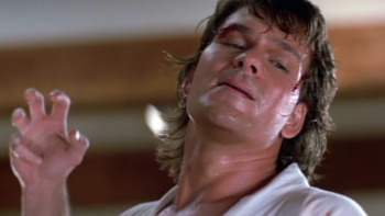 Via Thebest1000movies.blogspot.com - Silly Swayze, armbar > tiger claw bar strike