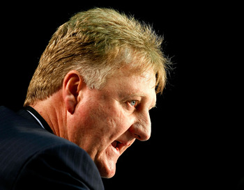 Larry Bird would love to add a little more talent to his team before the playoffs.