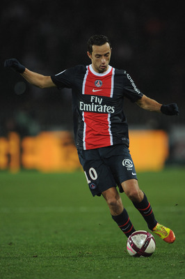 Paris St.-Germain is 10-2-2 at Parc de Princes in Ligue 1 play.