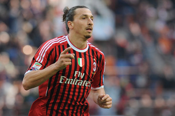 Zlatan Ibrahimovic and AC Milan are a tough draw at home.