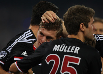Bayern Munich is tough to beat at Allianz Stadium.