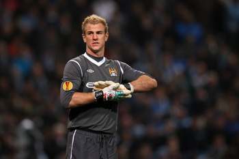 Manchester City goalkeeper Joe Hart has been absolutely fabulous  this season in English Premier League action..