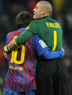 Lionel Messi and goalkeeper Victor Valdes are two big reasons Barcelona is 28-3-1 over the last two La Liga seasons at Camp Nou.