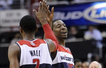 Wall and Crawford can evolve into one of the more dominant backcourts in a few years