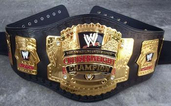 Cruiserweight title, where did you go?