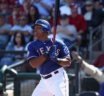 Adrian Beltre hit cleanup for most of last season.