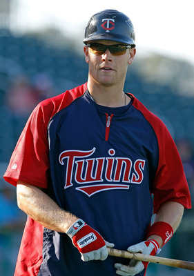 Twins first basemen Justin Morneau