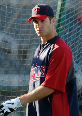 Twins catcher Joe Mauer