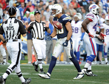 The Chargers must replace Vincent Jackson's production in 2012.