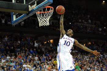 Taylor has a great chance to lead Kansas to a Final Four.