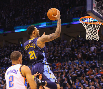 Wilson Chandler will excel as a Nugget.