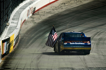 Brad Keselowski won Sunday's race at Bristol in dominating fashion
