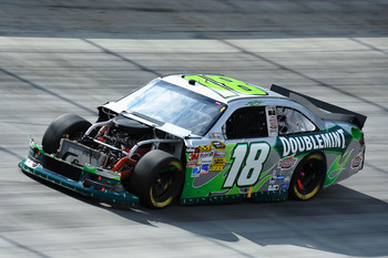 Kyle Busch came far from earning his sixth Bristol win on Sunday
