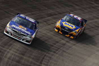 Michael Waltrip's drivers finished 3-4-5 at Bristol