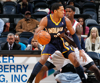 Danny Granger and the Pacers lost back-to-back games this past weekend.