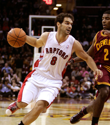 Jose Calderon is still in Toronto but for how long?