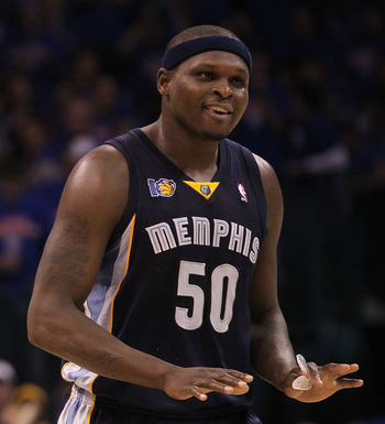 Zach Randolph is back.