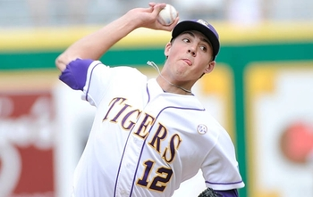 LSU ace Kevin Gausman has been nearly unhittable in five starts for the Tigers