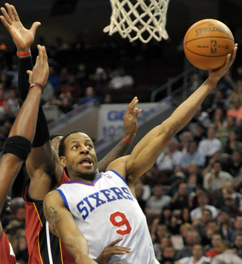 Andre Iguodala is one of the Sixers' most versatile offensive weapons.