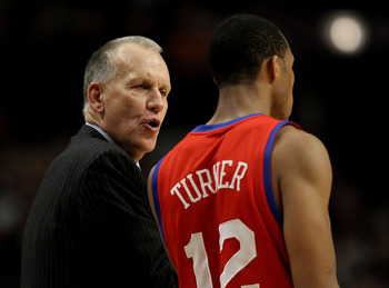 Evan Turner and Doug Collins haven't always seen eye-to-eye.