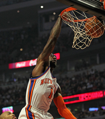 The Knicks will need more than just offense from Stoudemire to make a playoff run.